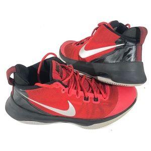 Nike Air Versatile Men's Red Basketball Shoes SZ 9